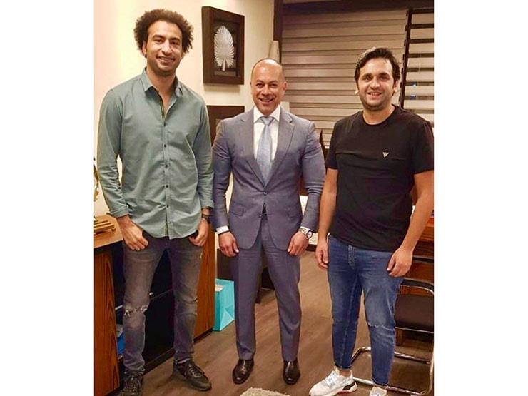 علي ربيع ومصطفى خاطر يتعاقدان مع تامر مرسي على مسلسل