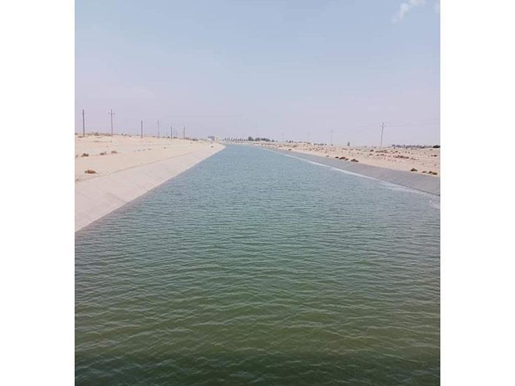 شمال سيناء تعلن وصول مياه ترعة السلام إلى محطة بئر العبد الرئيسية