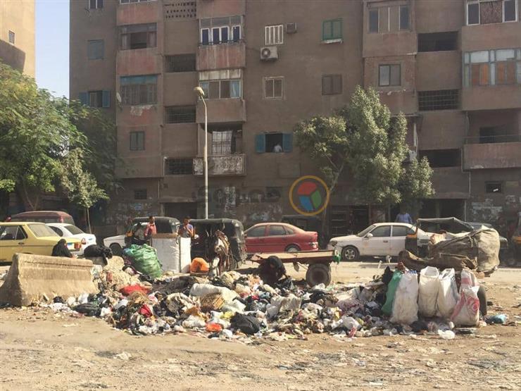 رش بؤر تجمعات القمامة بالجيزة لمكافحة الحشرات للحماية من الأمراض المتوطنة