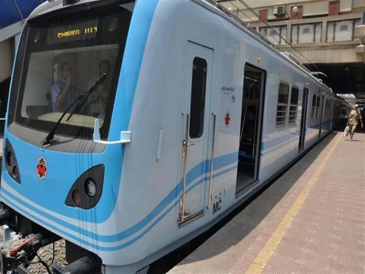 "سقوط رافعة ونش يعطل 3 محطات بخط مترو ""المرج - حلوان"""