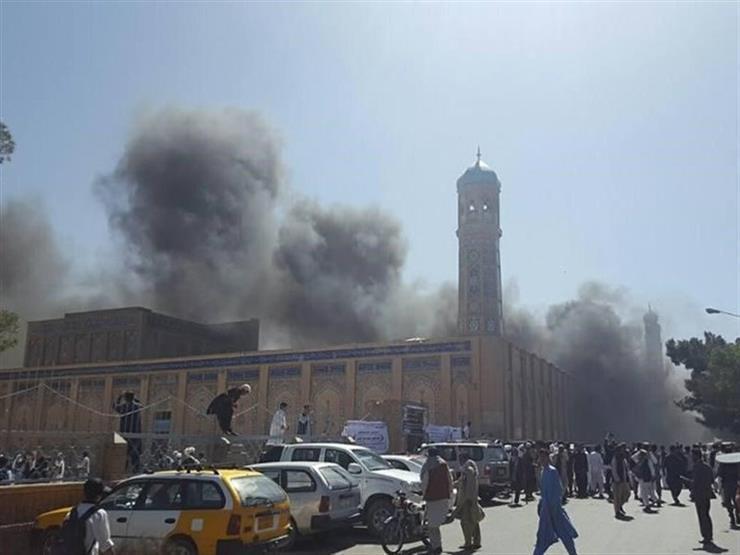 مقتل 26 شخصا إثر انفجار بمسجد في أفغانستان
