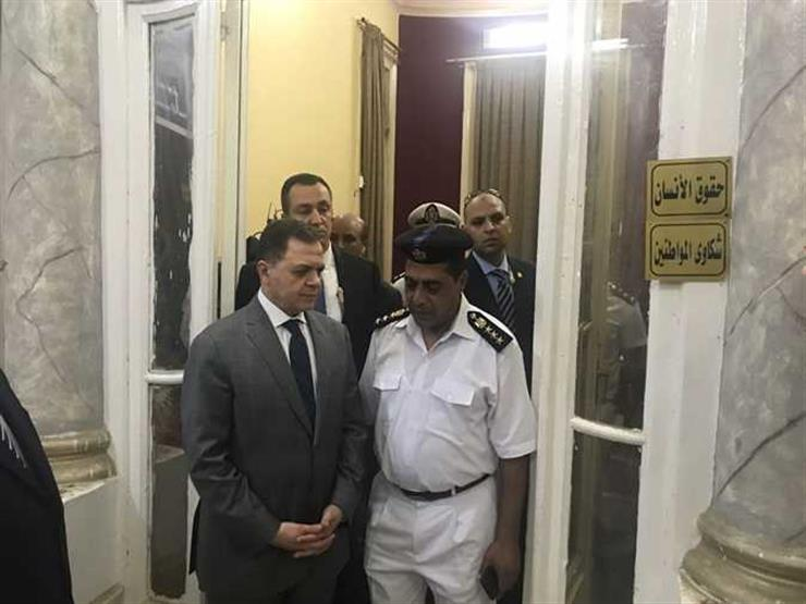 """أعضاء لجنة """"حقوق الإنسان"""" بالبرلمان يتفقدون أقسام الشرطة بالإسكندرية"""