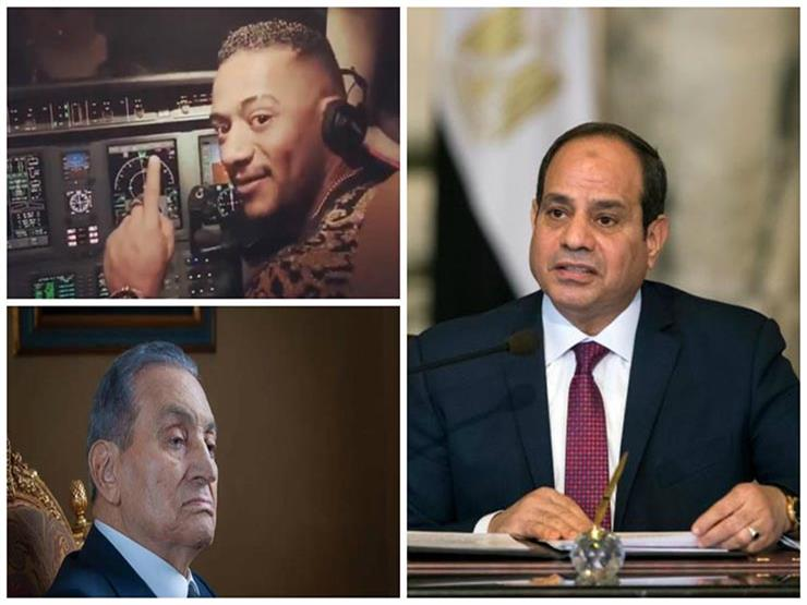 مصر في أسبوع| رسائل السيسي للمصريين.. وفيديو طائرة محمد رمضان.. وظهور مبارك