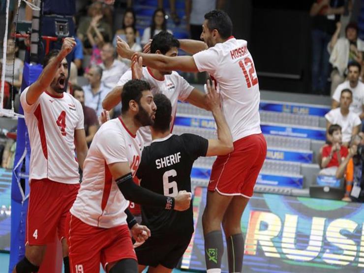 منتخب مصر للطائرة يحقق انتصاره الثاني ببطولة العالم بالفوز على إيران