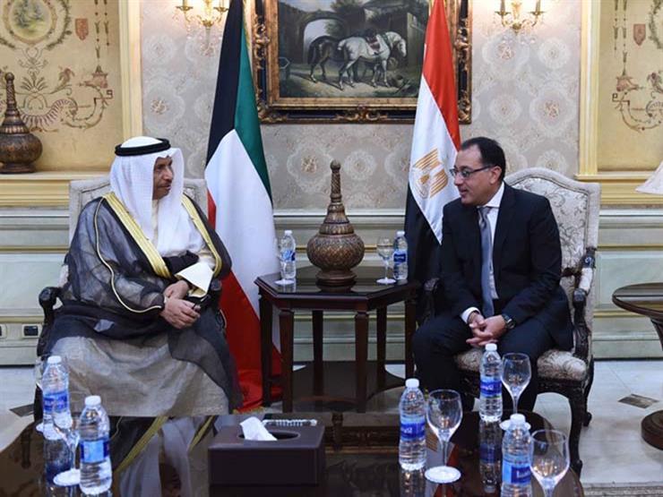 """مدبولي ونظيره الكويتي يشهدان توقيع اتفاقيتي المرحلة الثانية لـ""""تنمية سيناء"""""""