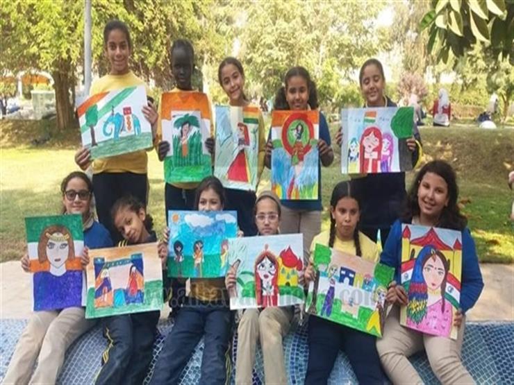 """فوز 15 طالبا بالمنيا في مسابقة """"لمحات من الهند"""""""