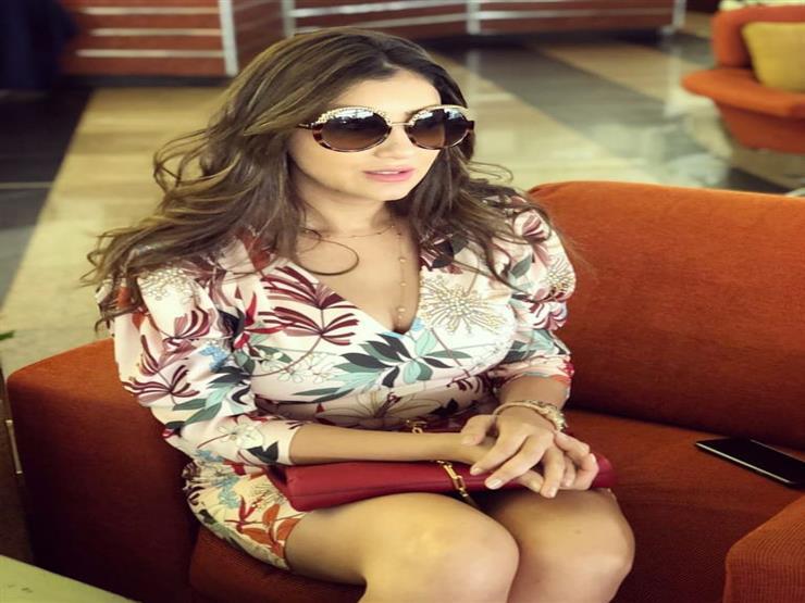 مي عمر في أحدث جلسة تصوير