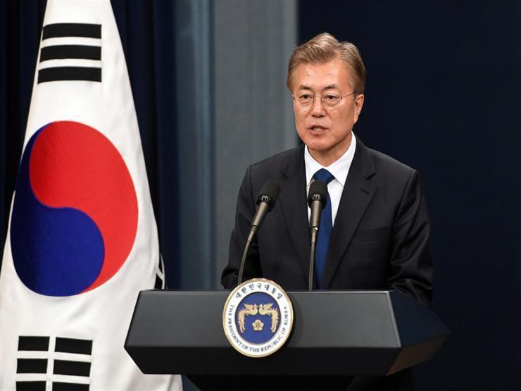 الرئيس الكوري الجنوبي يضغط على بيونجيانج لاستئناف المفاوضات