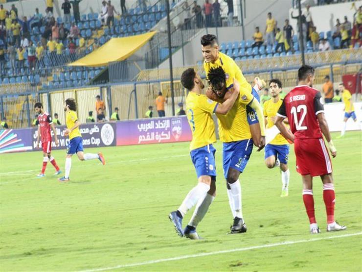 البطولة العربية.. الإسماعيلي 1 - 0 الجزيرة الإماراتي.. شيلونجو يتقدم