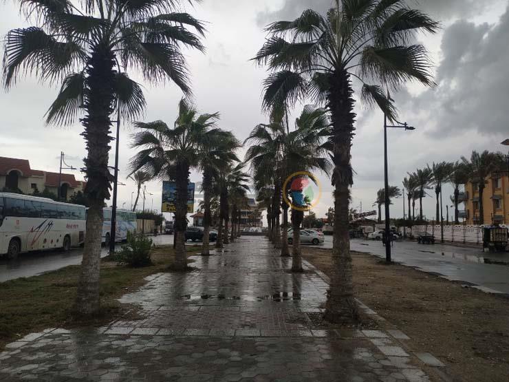 أمطار رعدية وطقس سيء بشمال سيناء.. والمحافظة ترفع حالة الطوارىء