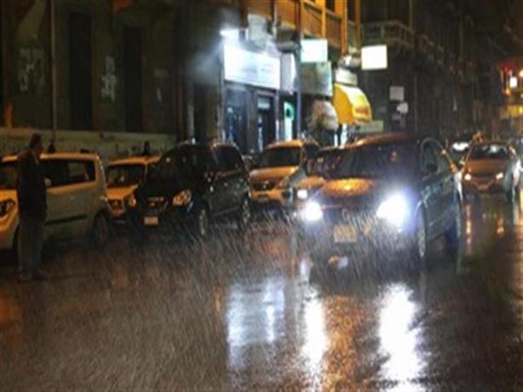 طقس الغربية : برق ورعد وأمطار غزيرة