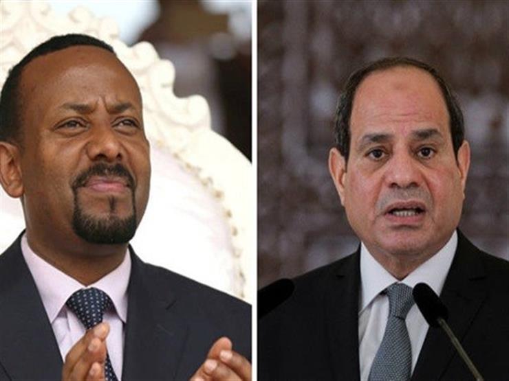 السيسى يلتقي رئيس وزراء إثيوبيا على هامش قمة روسيا أفريقيا