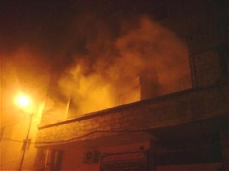 إصابة 7 أشخاص بينهم طفل في حريق منزل بكفر الشيخ