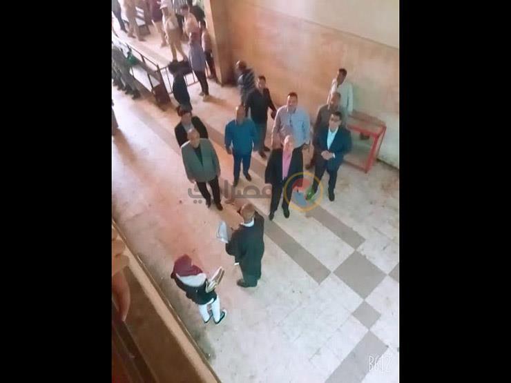 """محافظ المنوفية يتفقد محيط محكمة شبين الكوم بالتزامن مع محاكمة """"راجح"""" (صورة)"""