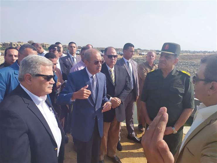 مساعد رئيس الجمهورية يتفقد أعمال تطوير وتنمية بحيرة قارون في الفيوم
