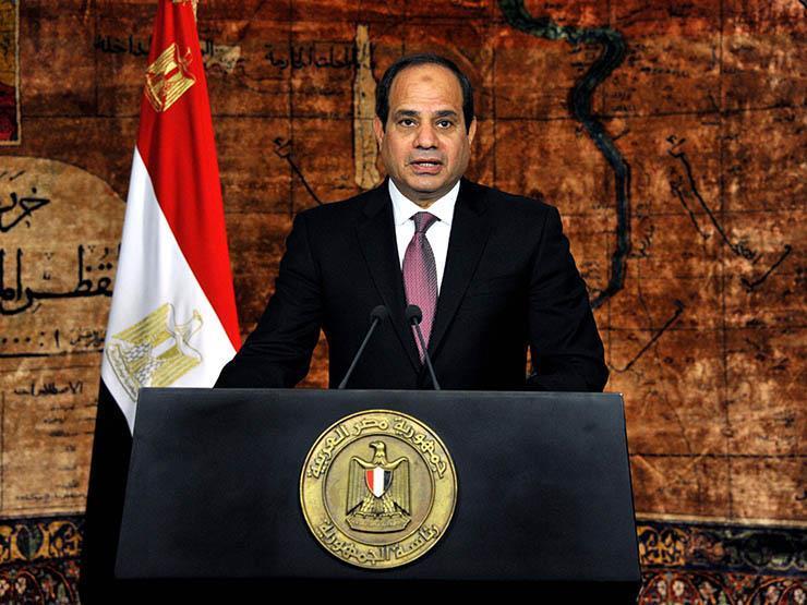 الرئاسة تنشر فيديو لكلمة السيسي في الذكرى الـ46 لانتصارات أك   مصراوى