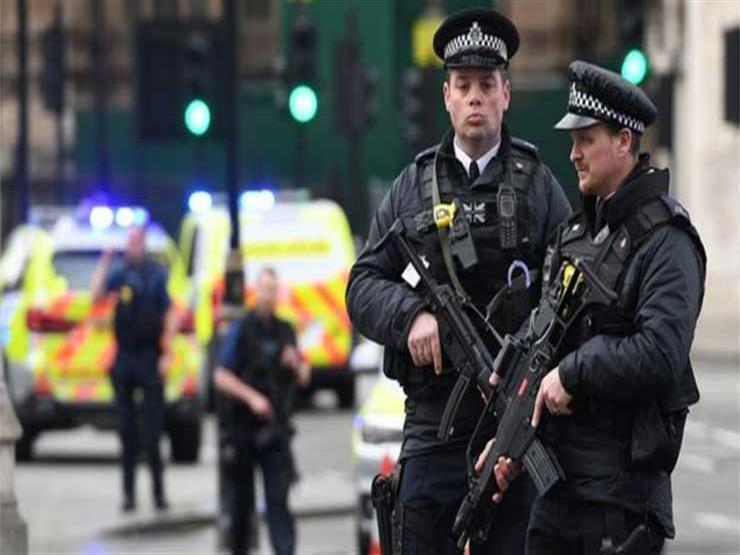الشرطة البريطانية تفرق محتجين في لندن تظاهروا ضد إجراءات العزل العام