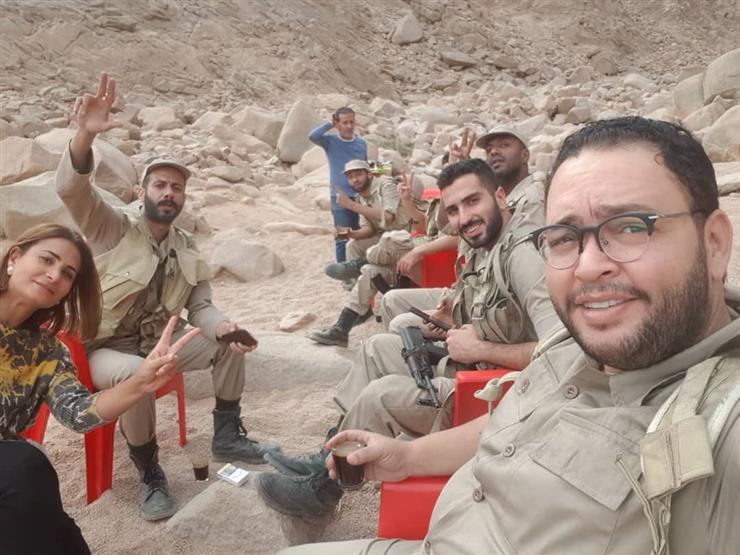 """أحمد رزق عن """"الممر"""": """"طلعنا الجبل على رجلينا.. وكنا بنعمل حاجة وطنية"""""""