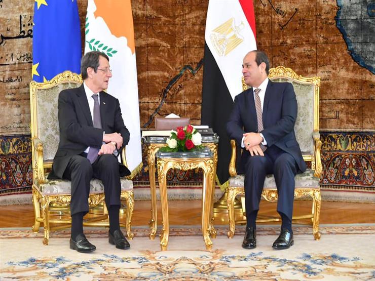 السيسى يشيد بالمواقف القبرصية الداعمة لمصر في المحافل الدولية