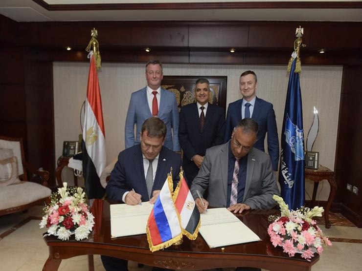 بروتوكول تعاون بين هيئة قناة السويس وشركة روسية لتطوير ترسا   مصراوى