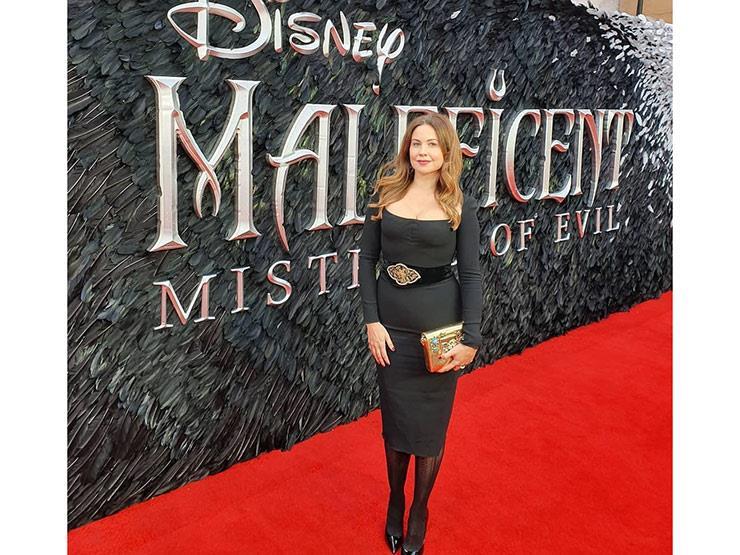 """هكذا ظهرت ريا أبي راشد في عرض """"Maleficent"""""""