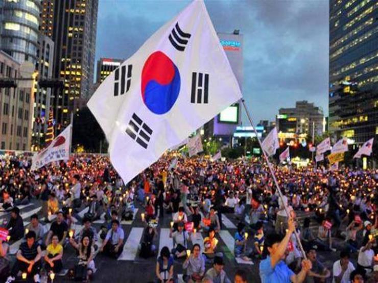 كوريا الجنوبية: مظاهرة حاشدة وسط سول تطالب باستقالة الرئيس ووزير العدل