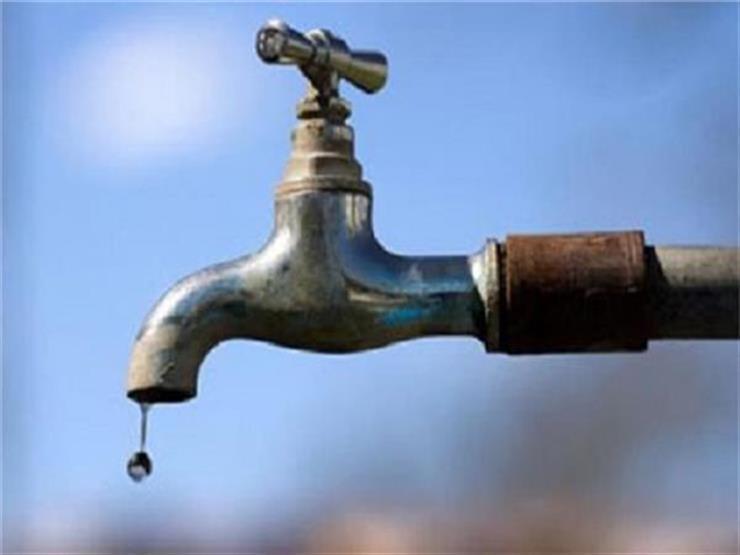 اليوم.. قطع المياه عن منطقة باسوس بالقناطر 3 ساعات