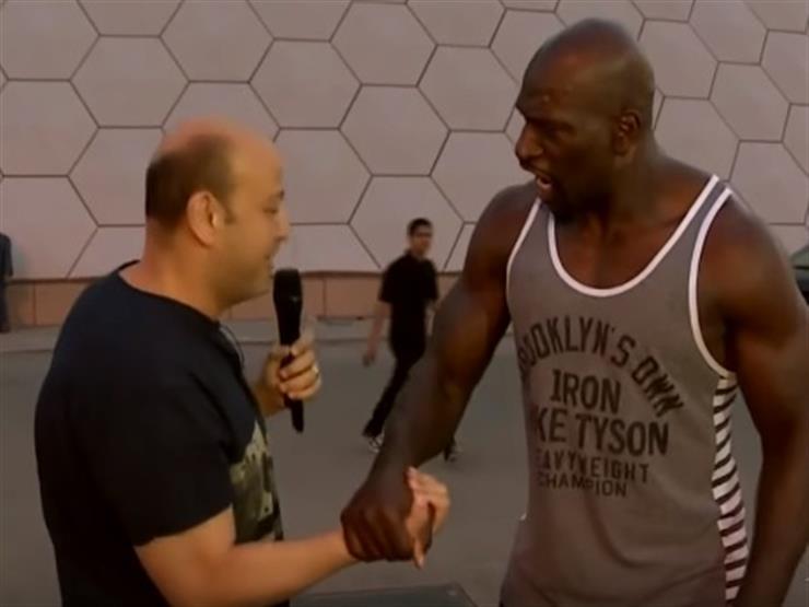 """أديب يتحدى نجم المصارعة تايتوس أونيل في لعبة """"الريست"""""""