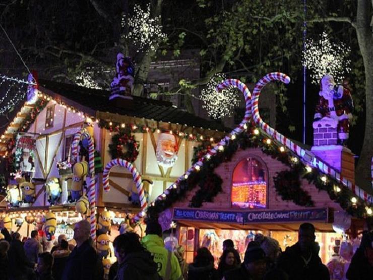 ساحة ليستر سكوير تتزين استعدادًا لأعياد الكريسماس - فيديو