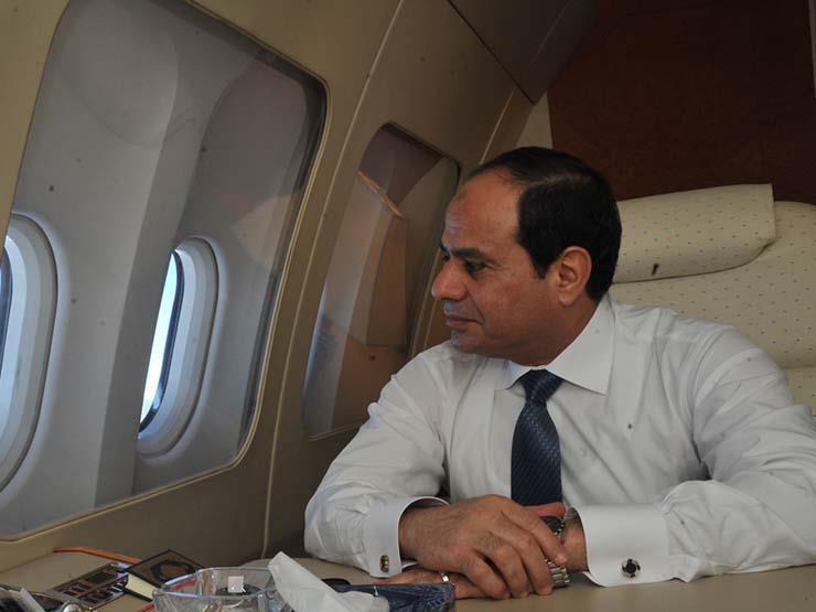 الرئيس السيسي يبدأ زيارة إلى الإمارات تستغرق يومين