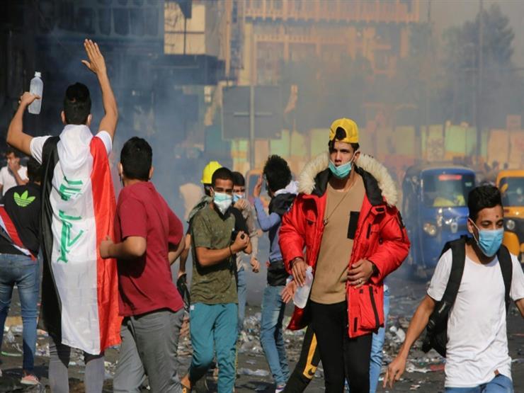 التظاهرات العراقية تستعيد زخمها وسط تواصل الضغط على السلطات