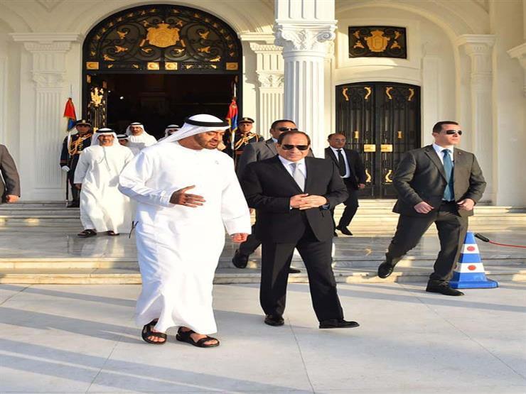 """جولة للسيسي و""""بن زايد"""" بمعرض أبوظبي الدولي للبترول"""
