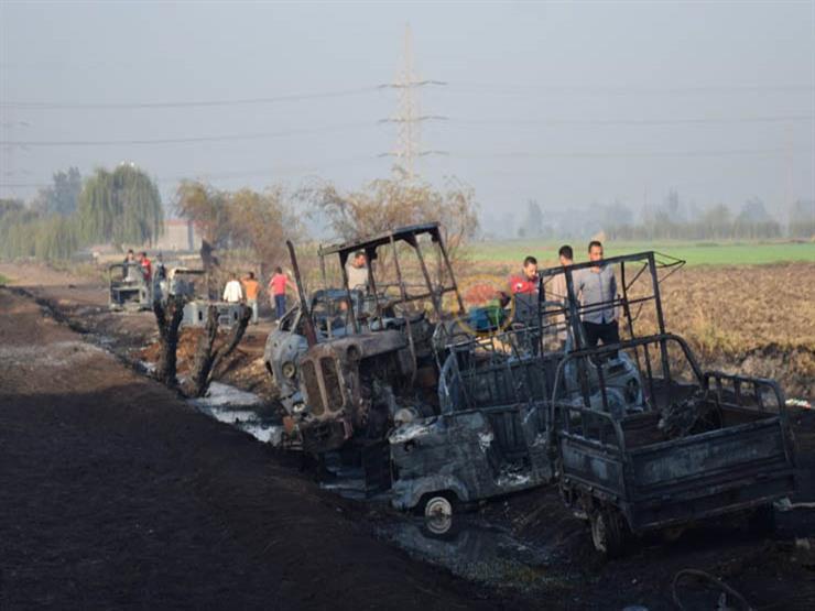 ضبط المتهم الرئيسي في واقعة حريق خط بترول إيتاي البارود بالبحيرة