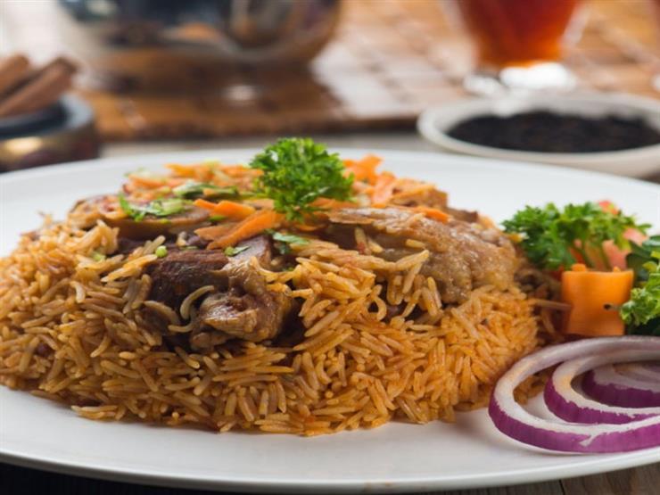 طريقة تحضير الأرز باللحم على البخار