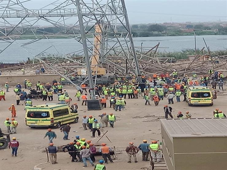 مصدر: ارتفاع وفيات حادث برج كهرباء أوسيم لـ5 حالات