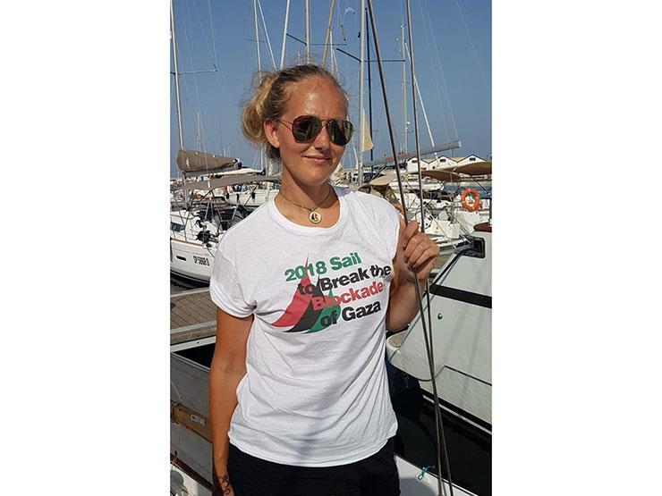 """من السويد إلى غزة """"سلام"""".. كيف دعّمت ناشطة أوروبية القضية الفلسطينية؟"""