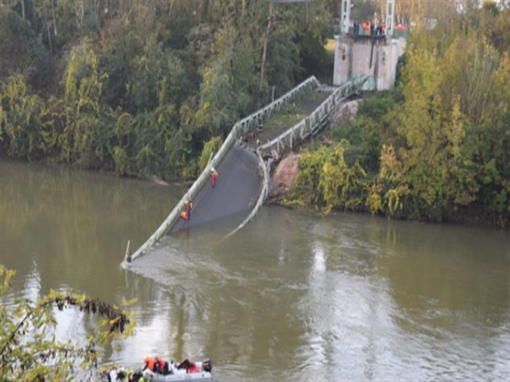 وفاة شخصين في حادث سقوط جسر جنوب فرنسا