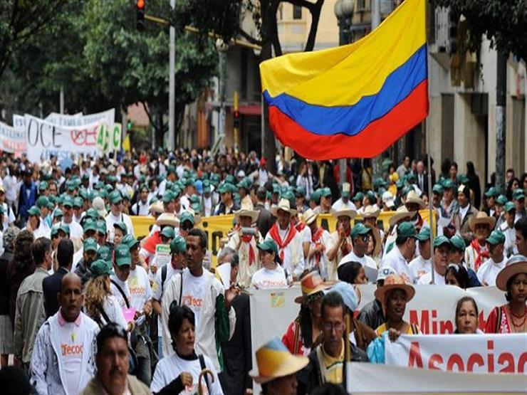 قادة الاحتجاجات في كولومبيا يدعون لإضراب جديد غداً