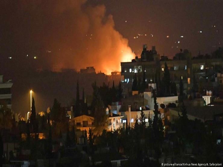 قصف جوي إسرائيلي يستهدف محيط العاصمة السورية دمشق