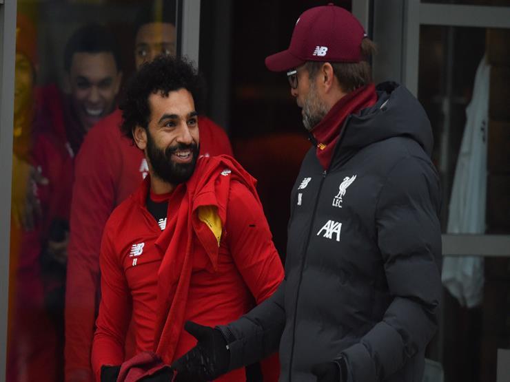 محمد صلاح احتياطيا مع ليفربول أمام إيفرتون