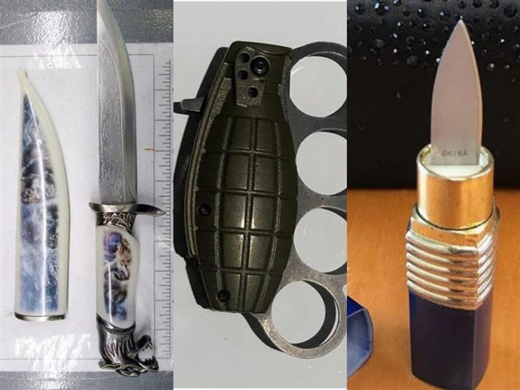 سكينة في قلم روج.. ومخدرات في الشامبو: أغرب محتويات حقائب السفر