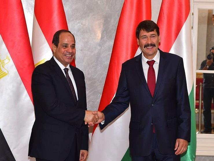 السيسي يستعرض أبرز الملفات التي ناقشها مع رئيس المجر