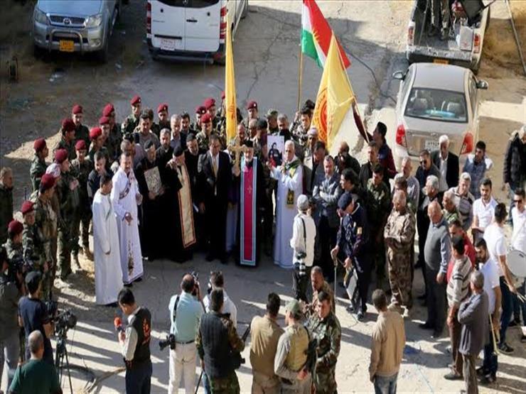 أكبر 3 كنائس تقرع أجراسها في نينوى العراقية بعد إعادة إعمارها