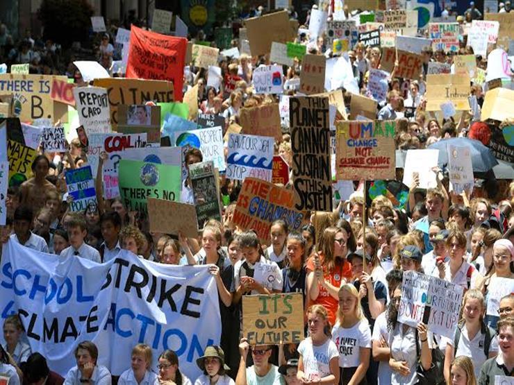 مسيرات لمئات الطلاب في أستراليا احتجاجا على التغير المناخي