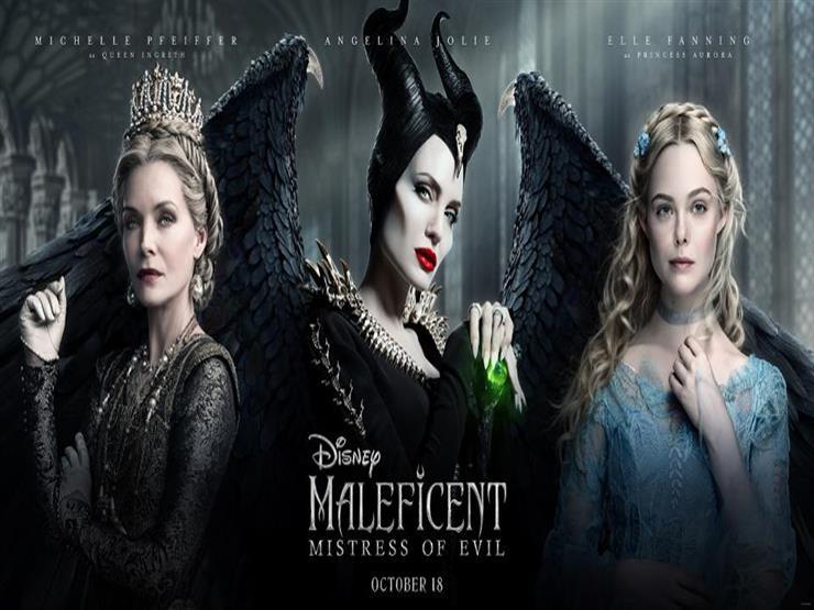 """إيرادات السبت.. """"Maleficent: Mistress of Evil"""" في الصدارة و""""joker"""" الثاني"""