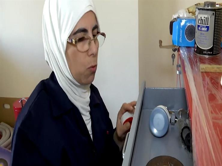 فتاه سوريةٌ تعمل بالسباكة في الأردن- فيديو