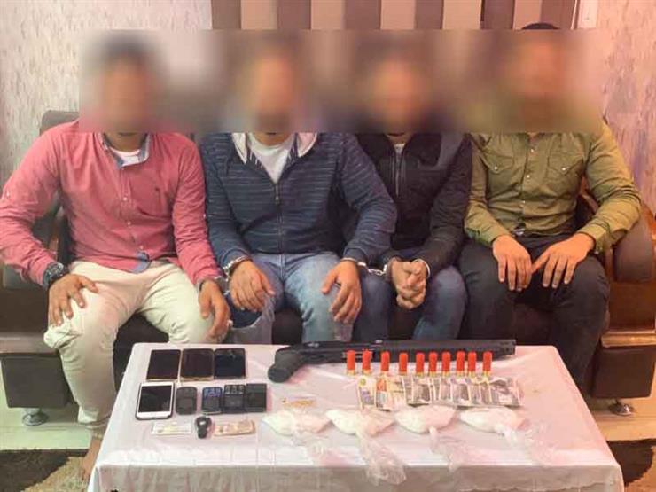 """بـ 750 جرام من مخدر """"كريستال الميث"""".. ضبط 4 تجار مخدرات بالقاهرة"""