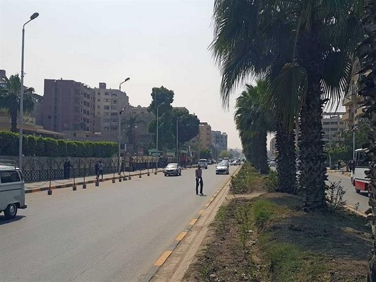 المرور: غلق جزئي لشارع الهرم لمدة 3 أيام