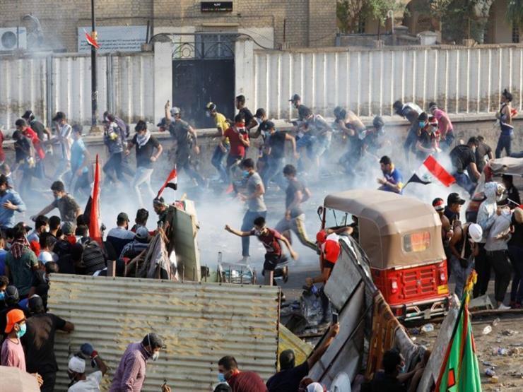 سجن شرطي عراقي 3 سنوات أطلق النار على متظاهرين وسط بغداد