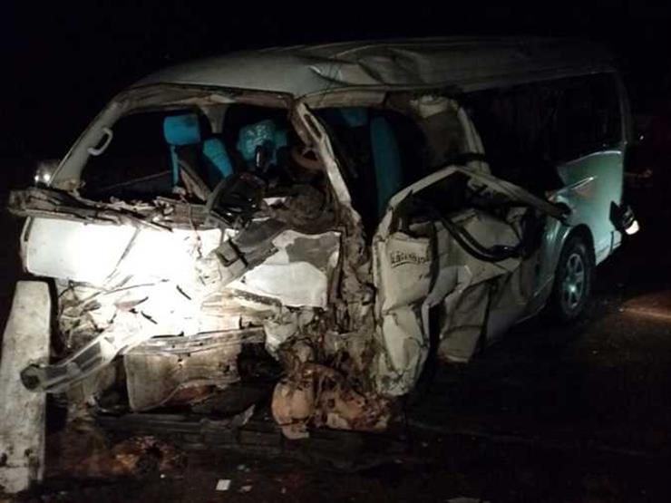 مصرع شخصين وإصابة 15 في حادث مروع بطريق الإسكندرية الصحراوي